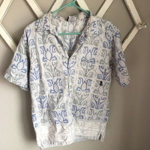 Patagonia Men's Small Patterned Button Up